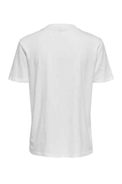 Weekday Life Reg Beyaz Kadın Tişört