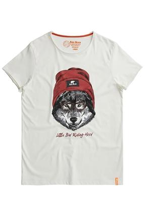 Red Hood Beyaz Erkek Tişört