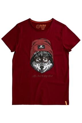 Red Hood Bordo Erkek Tişört