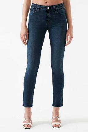 Sophie Dark Glam Lacivert Kadın Pantolon
