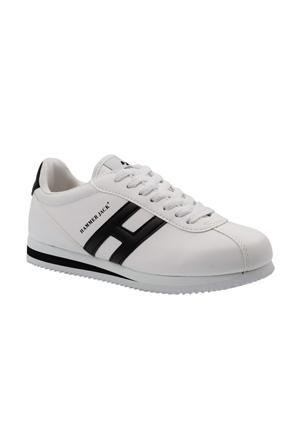 Elexsus Beyaz Günlük Kadın Ayakkabı