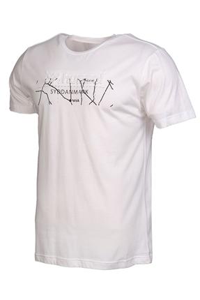 Teoto Beyaz Erkek Tişört