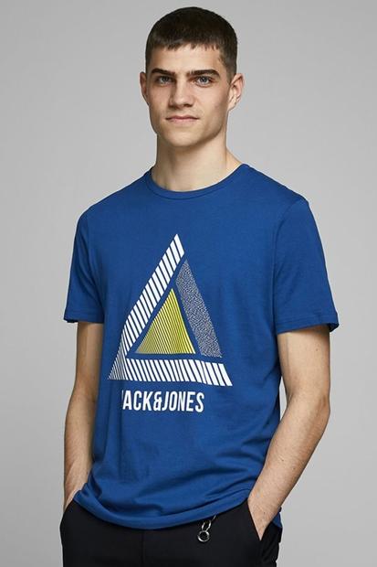 Geek Mavi Erkek Tişört