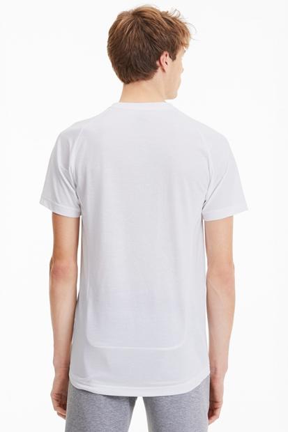 Evostripe Beyaz Erkek Tişört