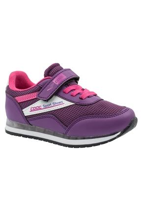 Mor Çocuk Günlük Ayakkabı