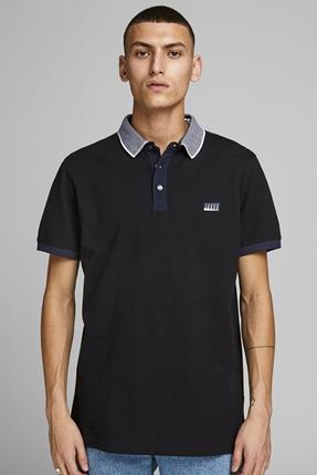 Charming Polo Siyah Erkek Tişört