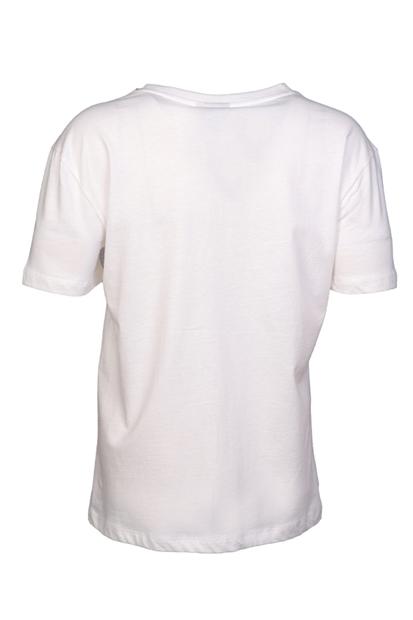 Yoana Beyaz Kadın Tişört