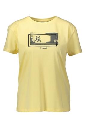 Seida Sarı Kadın Tişört