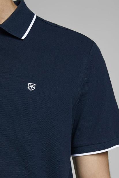 Axe Ba. Polo Ss Lacivert Erkek Tişört