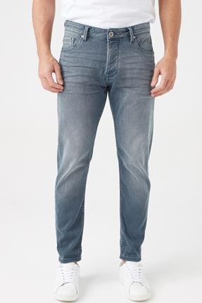 Bartez Erkek Gri Kot Pantolon