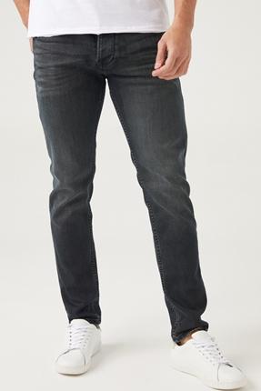 Bartez Siyah Erkek Kot Pantolon