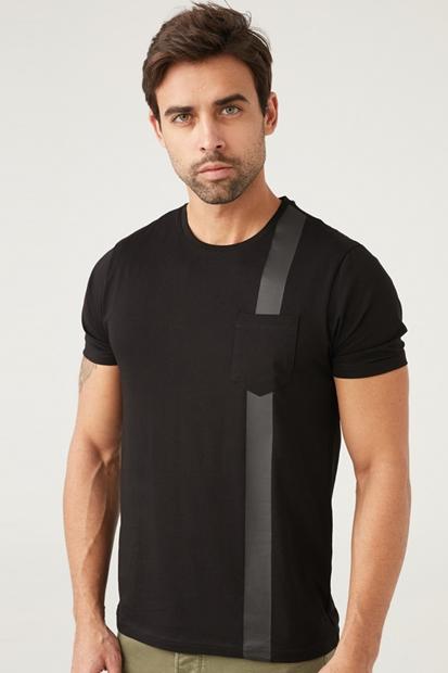 Siyah Erkek Tişört