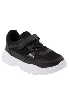 Siyah Çocuk Spor Ayakkabı