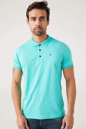 Mavi Erkek Polo Yaka Tişört