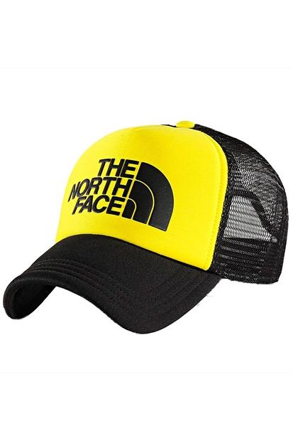 Logo Trucker Sarı Şapka