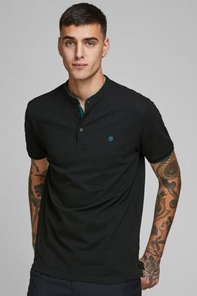 Axel Polo Yaka Siyah Erkek Tişört