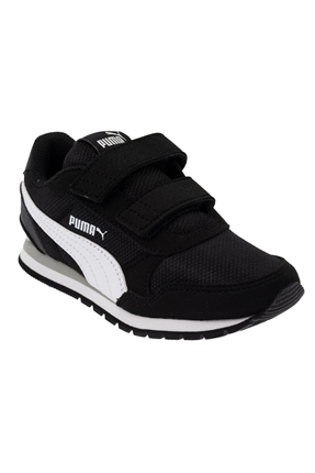 ST Runner v2 Mesh Siyah Çocuk Ayakkabı