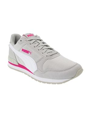 St Runner Mesh Gray Violet Gri Kadın Ayakkabı