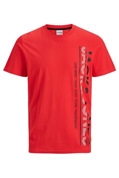 Structure Tee Ss Crew Neck Kırmızı Erkek Tişört