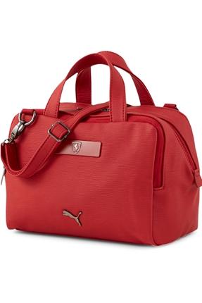 Ferrari Style Kırmızı Kadın Omuz Çantası