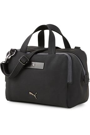 Ferrari Style Handbag Siyah Omuz Çantası