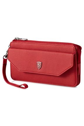 Ferrari Style Kırmızı Kadın Cüzdan