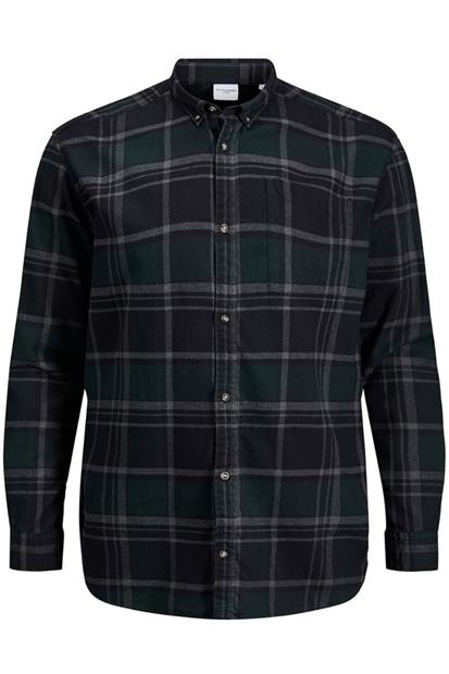 Classic Check Erkek Yeşil Gömlek