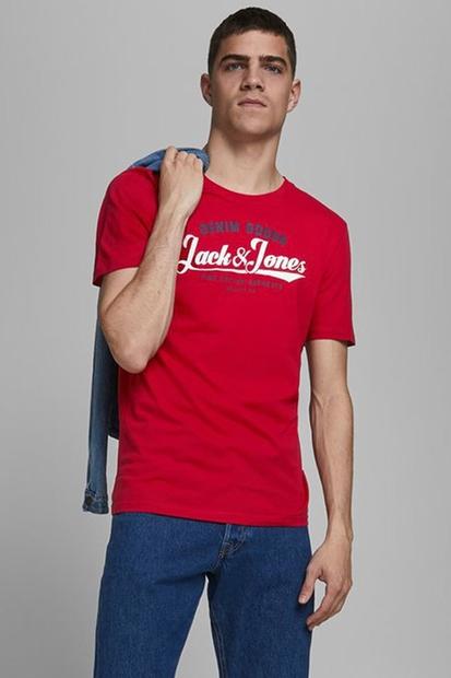 Logo Tee Kırmızı Erkek Tişört