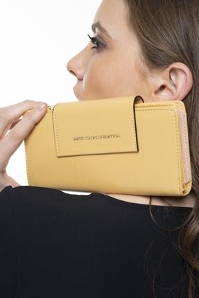 Sarı Kadın Cüzdan