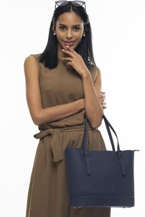 Lacivert Kadın Çanta