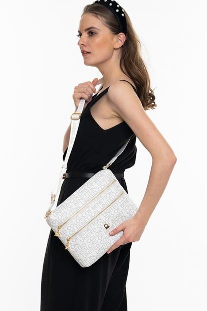 Beyaz Kadın Çanta