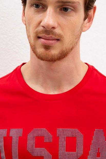 Kırmızı Erkek Tişört