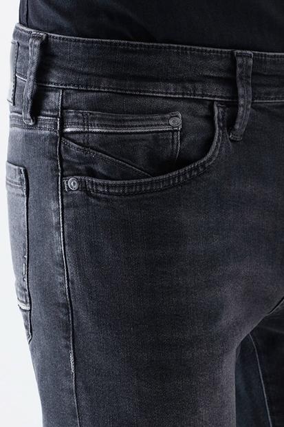 James Smoke Brushed Gri Erkek Pantolon