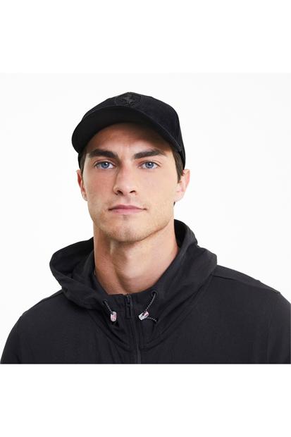 Ferrari Style Siyah Erkek Şapka