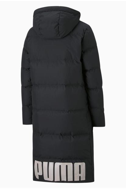 Ong Oversized Down Coat Siyah Kadın Mont