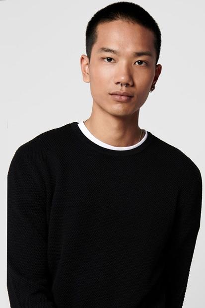 Siyah Erkek Kazak