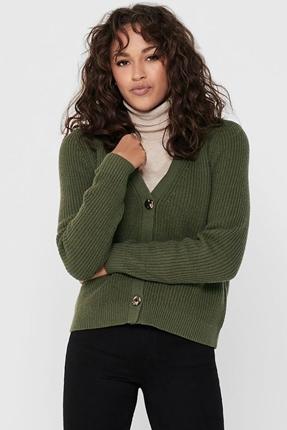 Yeşil Kadın Hırka