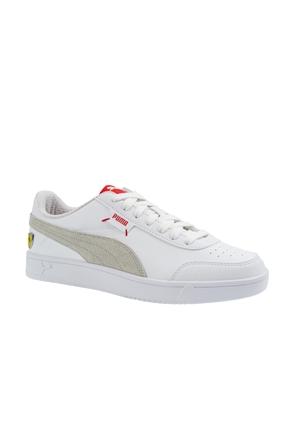 Ferrari Race Court Beyaz Erkek Ayakkabı