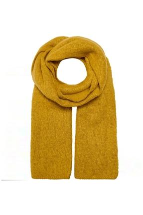 Lima Knit Long Scarf Sarı Kadın Atkı