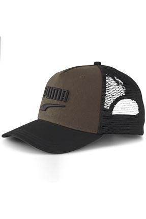 Logo File Detaylı Haki Şapka