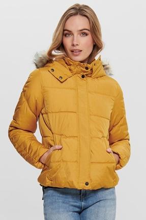 North Sarı Kadın Mont