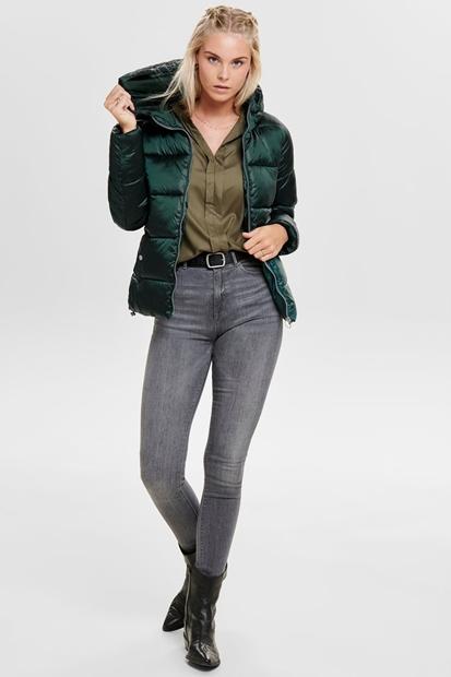 Naıoı Hooded Yeşil Kadın Mont