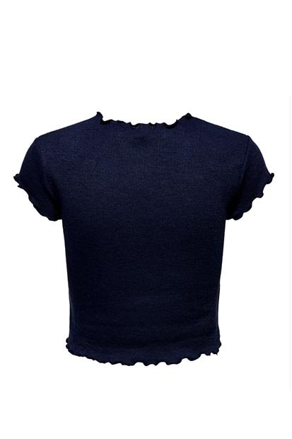 Lacivert Kadın Tişört