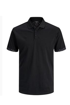 Polo Yaka Siyah Erkek Tişört