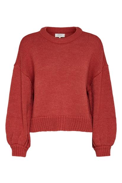 Caa Pullover Knt Kırmızı Kazak
