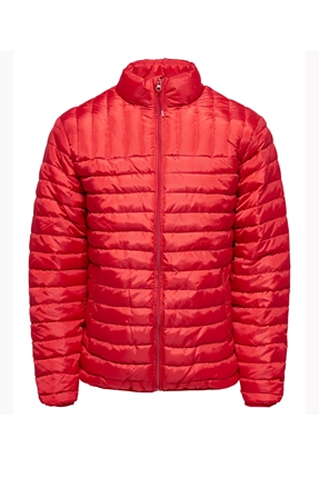 Kırmızı Kadın Mont