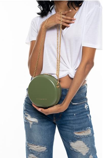 Yeşil Kadın Çanta