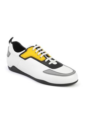 3070 Beyaz Erkek Spor Ayakkabı