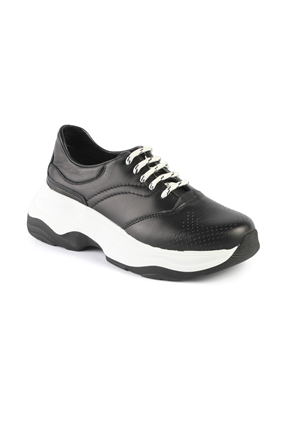 AH019 Siyah Bayan Spor Ayakkabı