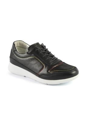 AE0082 Siyah Bayan Spor Ayakkabı